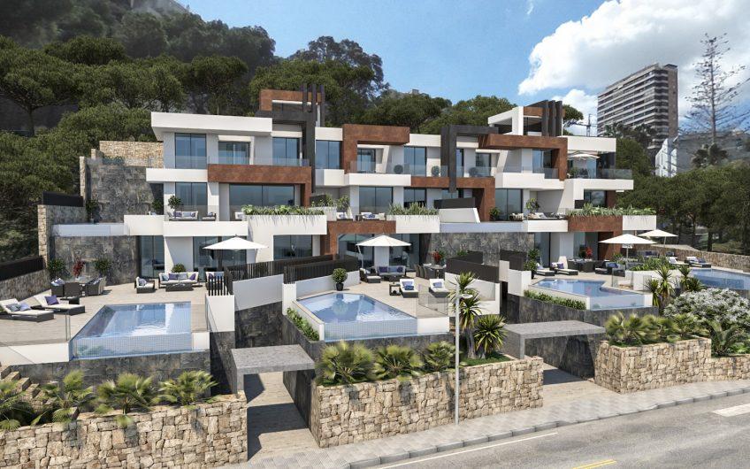 Proyecto. Apartamentos en primera linea de playa Benidorm