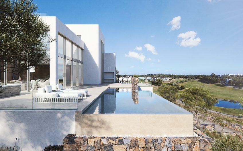 Villa de diseño en campo de Golf