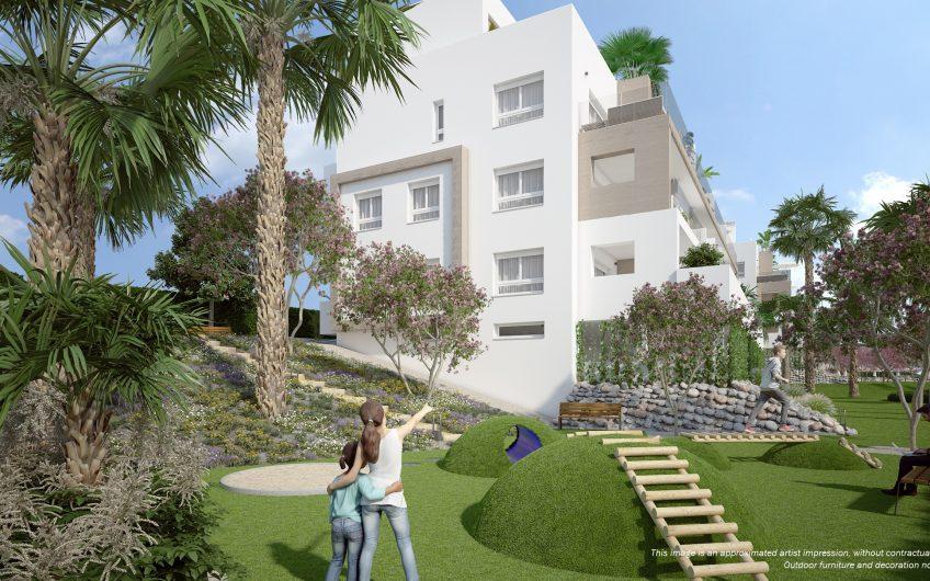 Apartamento de 3 habitaciones rodeado de tres campos de golf
