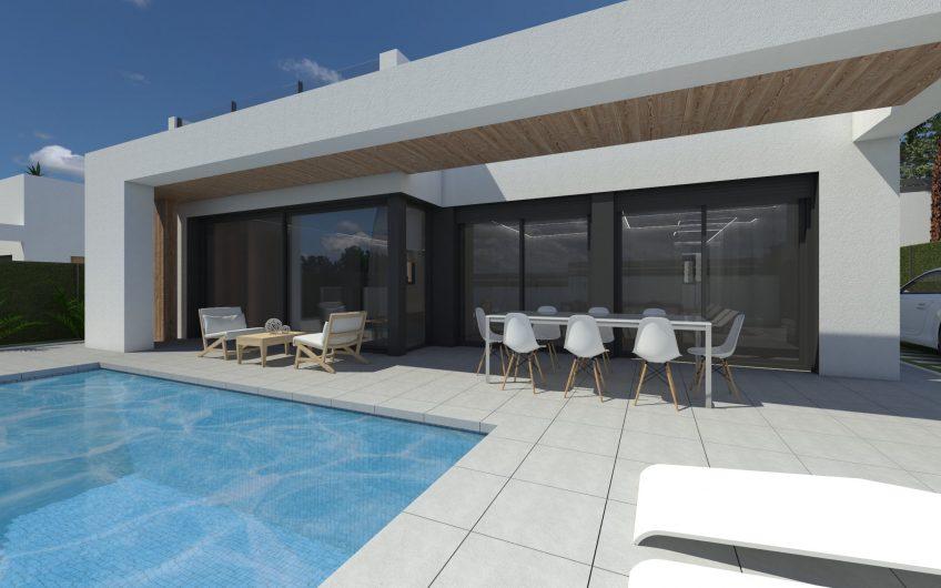 ¡LLAVE EN MANO! Modernos chalets con piscina privada en Pinar de Campoverde Costa Blanca Sur, Pilar de la Horadada