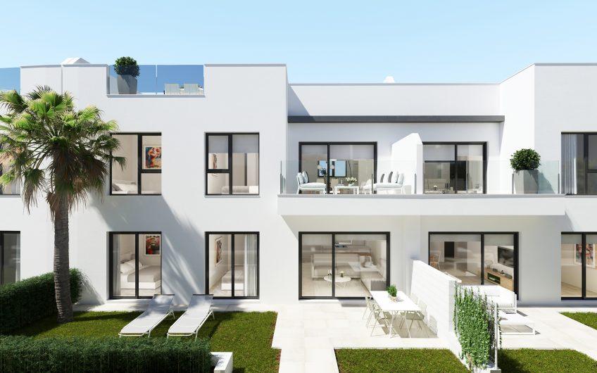 Apartamentos con jardín en Santiago de la Ribera (Murcia)